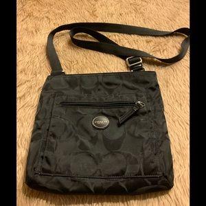Coach Getaway Signature Nylon Bag